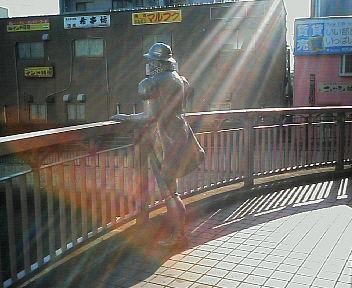 堺駅前の南蛮人像