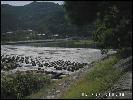 嵐山…渡月橋。