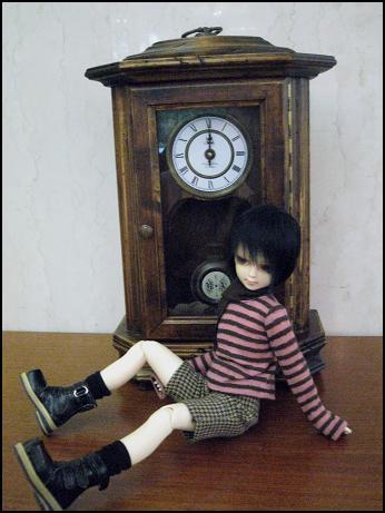 おーおきなのっぽの古時計ぃー。