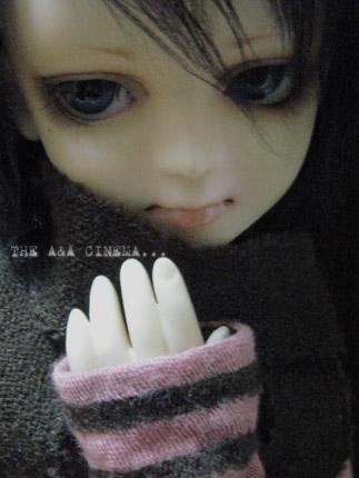 顔は怖いけどやさしい子なのです。