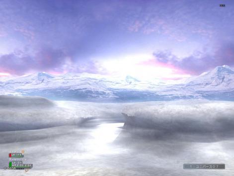 雪山です^^w