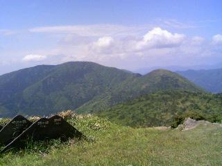 鳩ケ峰方面