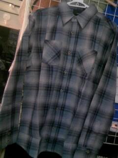 Hurley fade away LSシャツ 2
