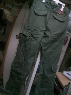 BV Army カーゴパンツ 1-2
