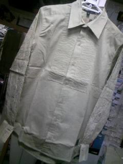 BV Skullpaisley LSシャツ 2-1