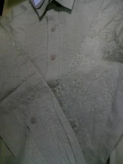 BV SkullPaisley LSシャツ 2-4