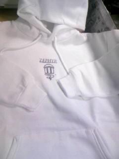 Zephyr ゼファーロゴ パーカー 1-1