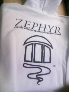 Zephyr ゼファーロゴ パーカー 1-2