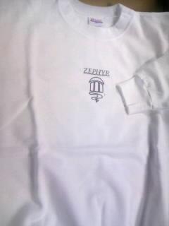 Zephyr ゼファーロゴ トレーナー 2-1