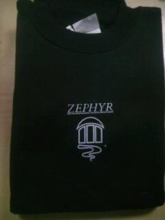 Zephyr ゼファーロゴ トレーナー 2-3
