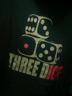 Three dice tdozpパーカー 2-3