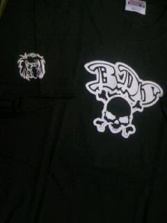 Bulldog skate skull T 7-3