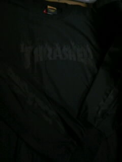 Thrasher Flame Logo LS-T 3-1