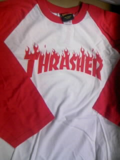 Thrasher Flame Logo BB-T 4-1