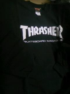 Thrasher SK8magトレーナー 5-1