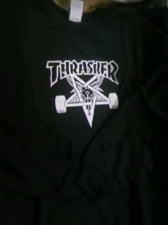 Thrasher SK8goatトレーナー 6-1
