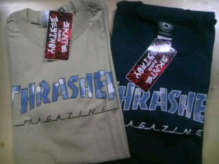 Thrasher Plaid Logo T 10-1