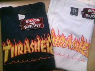 Thrasher Flame Logo T 11-1