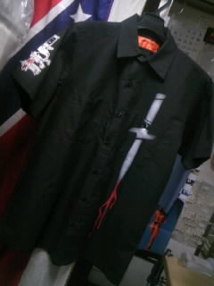 Dagger ワークSSシャツ 2-1