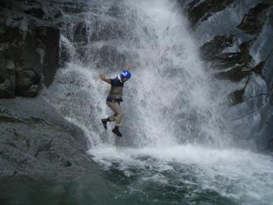 西丹沢の滝