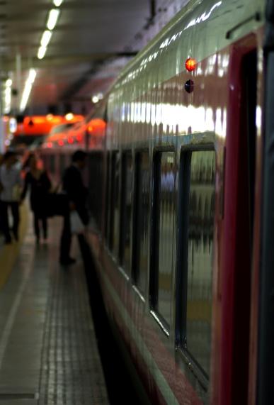 ロマンスカー(新宿駅)