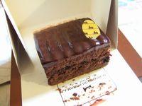 メゾンドショコラのケーキ(トゥショコラ)