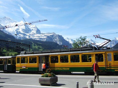 スイス旅行(ベルナー・オーバーランド)
