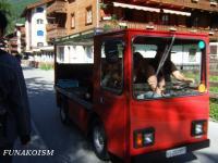 ツェルマットの車