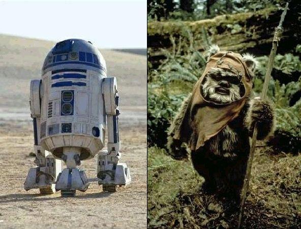 R2D2&イーウォック