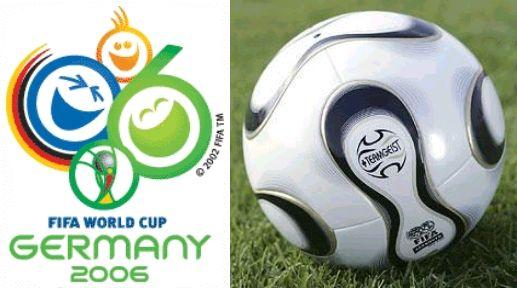 ドイツ大会公式ポスター 公式球 +TEAM GEIST