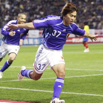 ゴールを決めた佐藤寿人