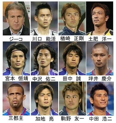 FIFAドイツW杯 日本代表(1)