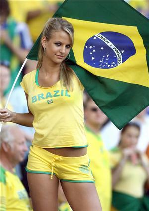 ブラジルサポーター
