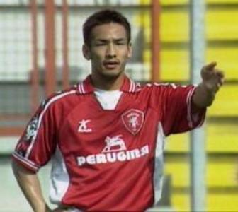 中田がイタリアで最初に在籍したクラブ、ペルージャ