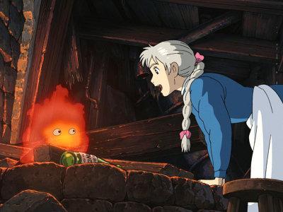 ソフィーと火の悪魔カルシファー