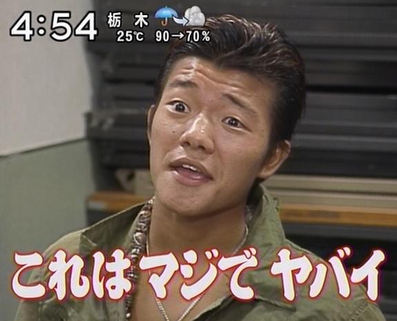 試合前日インタビューに応じる亀田大毅。確かにヤバそう。