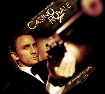 007 CASINO ROYALE カジノ・ロワイヤル