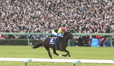 11万人が、この馬の走りを見つめた