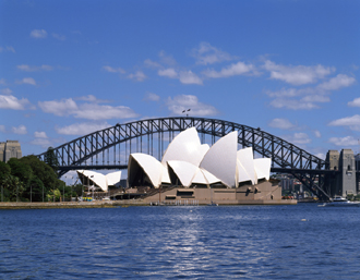 オペラハウスとハーバーブリッジ(Sydney