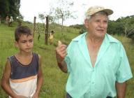 ペレイラ爺さんと孫のアラウージョ