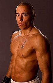 現UFCウェルター級王者ジョルジュ・サン・ピエール(Georges St Pierre)