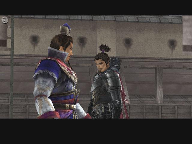 対峙する2人の英雄 曹操(左)と織田信長