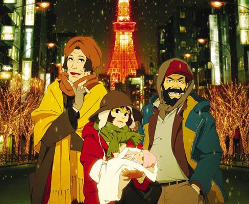 左からハナちゃん、ミユキ、清子(赤ん坊)、ギンちゃん