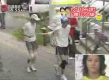 """問題の""""恫喝シーン""""その1…(C)NTV"""