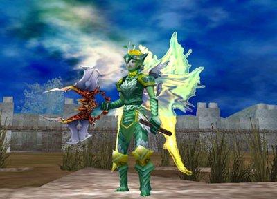 3D MMORPG 無料オンラインゲーム『エターナルカオス』