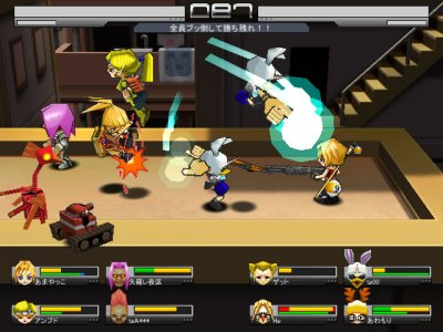 無料3Dアクションゲーム『ゲットアンプドR』