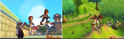 3D MMORPG 無料オンラインゲーム『飛天online』