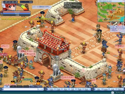 2D MMORPG 無料オンラインゲーム『君主』