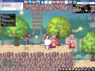 2D 無料オンラインゲーム『トキメキファンタジー ラテール』