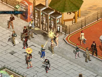 2D MMORPG 無料オンラインゲーム「ロストオンライン」